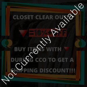 CLOSET CLEAR OUT (CCO) EVENT!!!